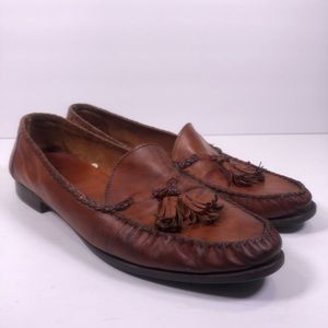 Allen Edmonds Men's Antigua Tassel Loafers Slip on